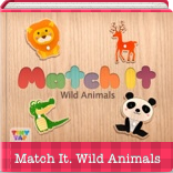 TinyTap.  Match It , Wild Animals. Free Game