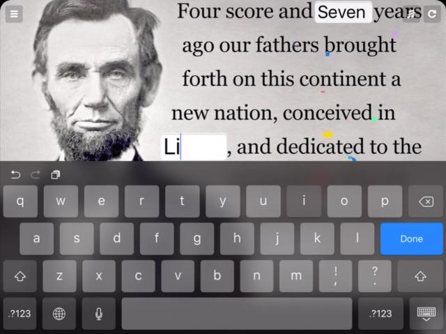 TinyTap - Tap n Type - screen shot 1