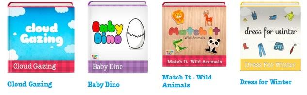 New TinyTap games
