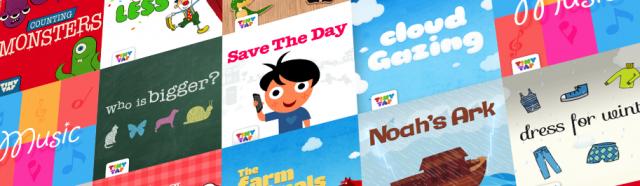 TinyTap Games Grid