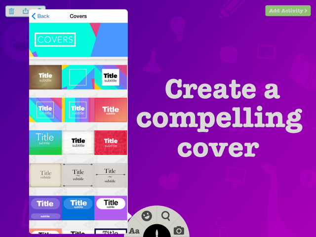 Create a compelling cover